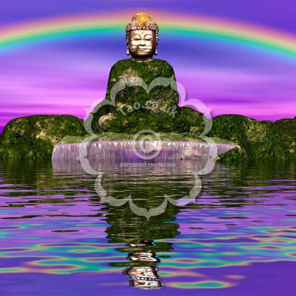 Rainbow Buddha
